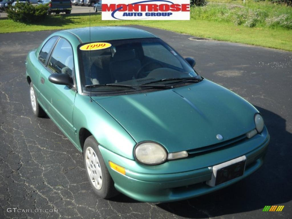 1999 Alpine Green Pearl Plymouth Neon Highline Coupe 31743529 Photo 20