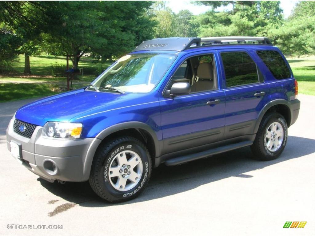 2005 Sonic Blue Metallic Ford Escape Xlt V6 4wd 31743540
