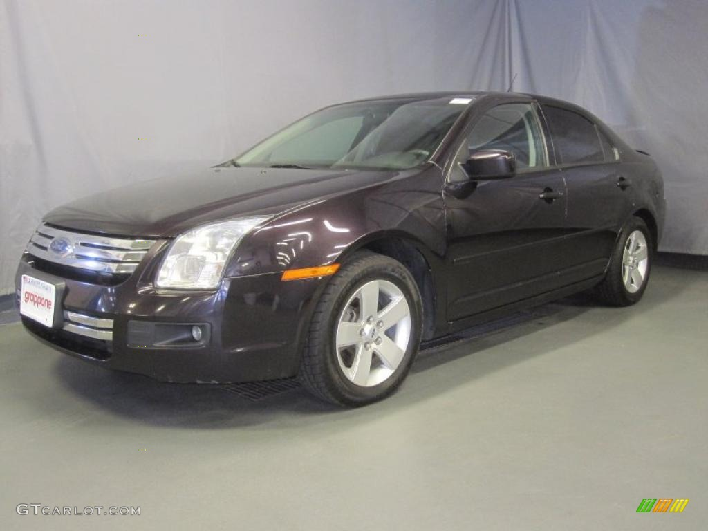 2007 dark amethyst metallic ford fusion se v6 awd. Black Bedroom Furniture Sets. Home Design Ideas