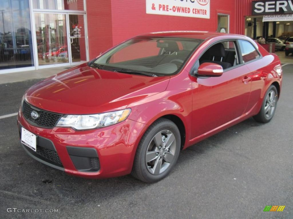2010 spicy red kia forte koup ex 31743451 car color galleries. Black Bedroom Furniture Sets. Home Design Ideas