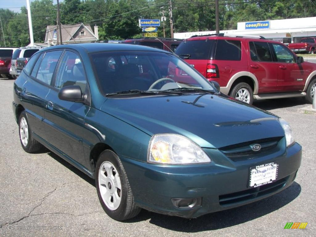 Willow green kia rio