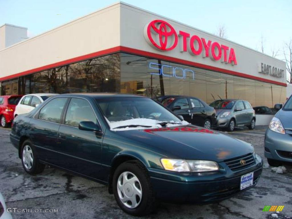 1998 dark green metallic toyota camry le v6 3172415 car color galleries. Black Bedroom Furniture Sets. Home Design Ideas