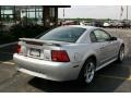 2001 Silver Metallic Ford Mustang V6 Coupe  photo #3