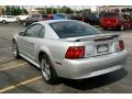 2001 Silver Metallic Ford Mustang V6 Coupe  photo #4