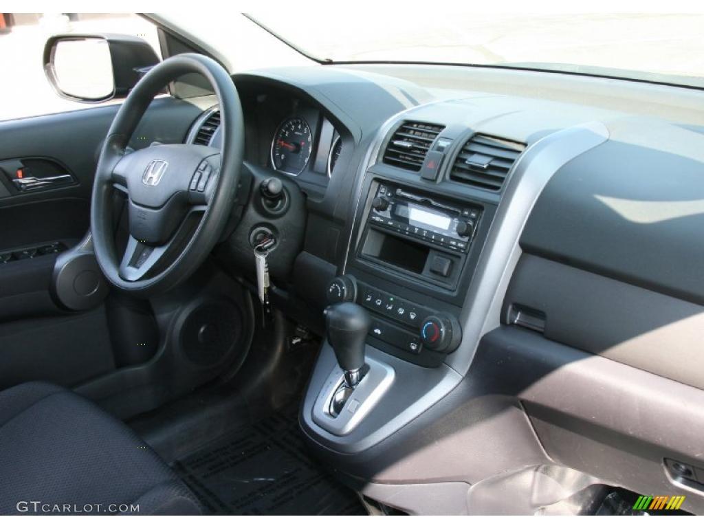 2008 CR-V LX 4WD - Royal Blue Pearl / Black photo #17