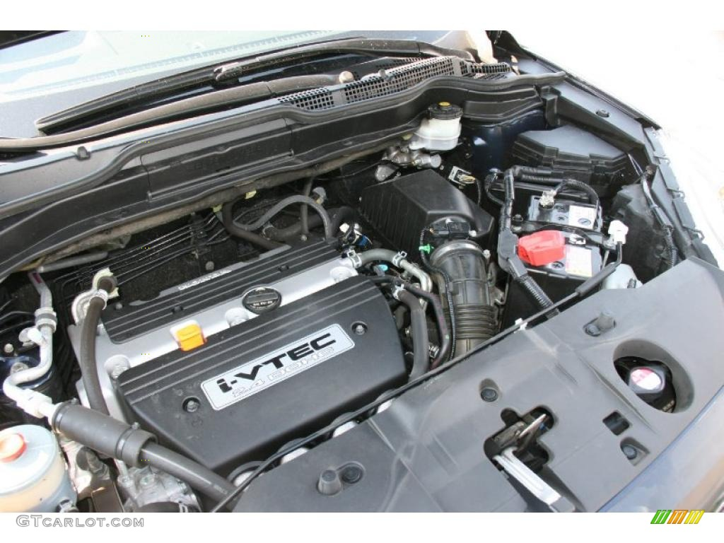2008 CR-V LX 4WD - Royal Blue Pearl / Black photo #25