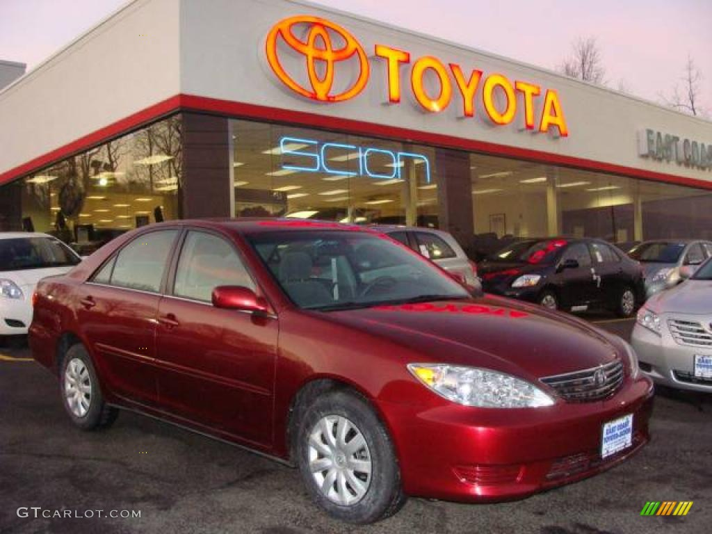 2006 salsa red pearl toyota camry le 3172431 car color galleries. Black Bedroom Furniture Sets. Home Design Ideas