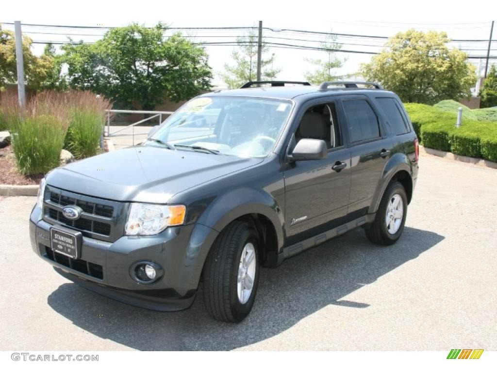 Black Pearl Slate Metallic Ford Escape