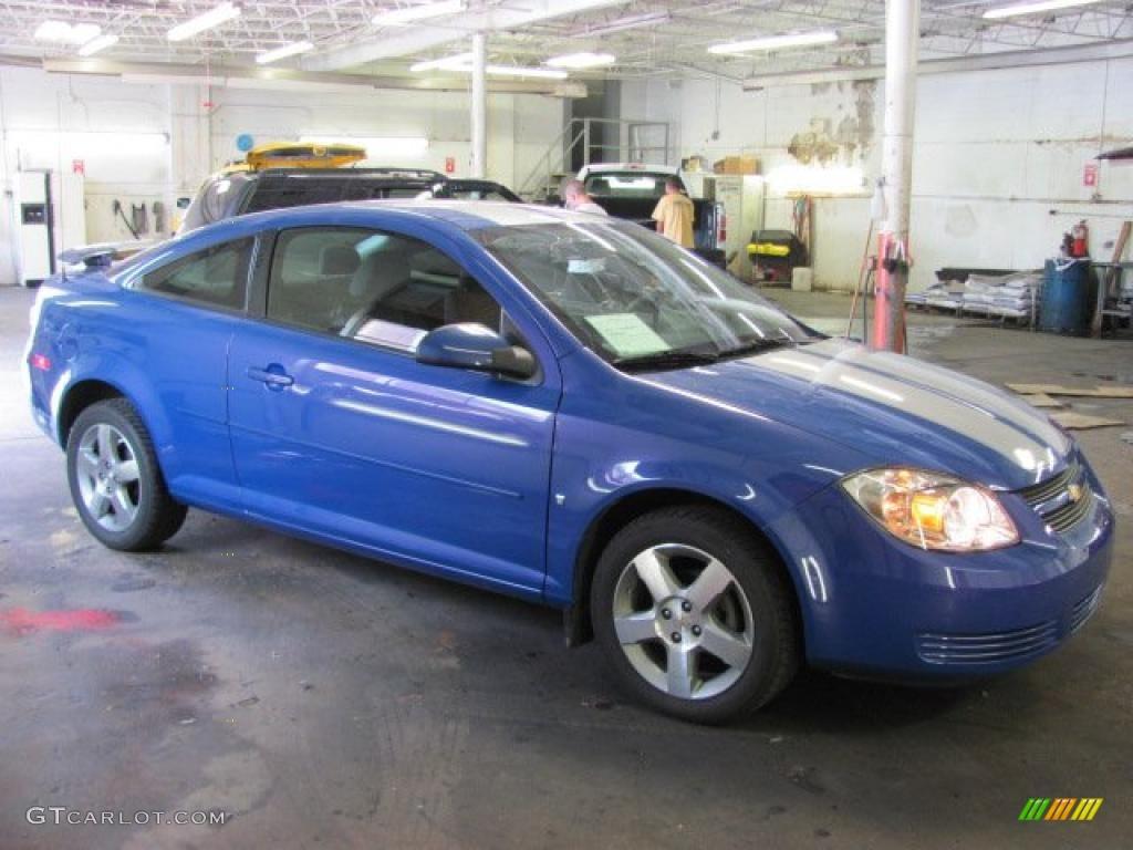 2008 Blue Flash Metallic Chevrolet Cobalt Special Edition Coupe 31791545 Gtcarlot Com Car Color Galleries