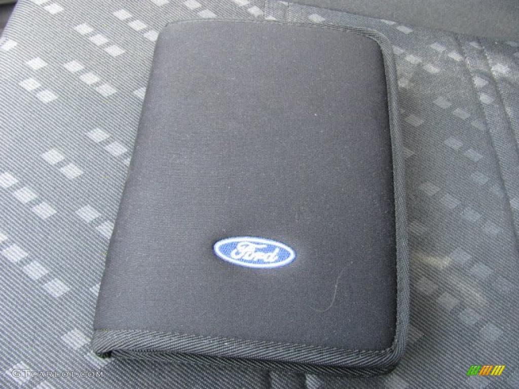 2003 Escort ZX2 Coupe - Black / Dark Charcoal photo #13