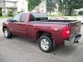 2009 Deep Ruby Red Metallic Chevrolet Silverado 1500 LT Extended Cab 4x4  photo #7