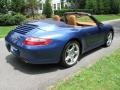 2007 Cobalt Blue Metallic Porsche 911 Carrera 4 Cabriolet  photo #6