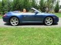 2007 Cobalt Blue Metallic Porsche 911 Carrera 4 Cabriolet  photo #7