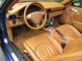 2007 Cobalt Blue Metallic Porsche 911 Carrera 4 Cabriolet  photo #11