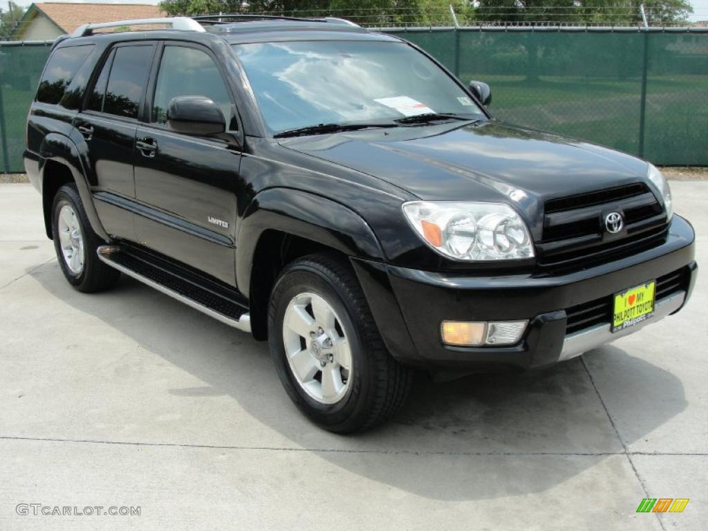 2004 black toyota 4runner limited 31791354. Black Bedroom Furniture Sets. Home Design Ideas