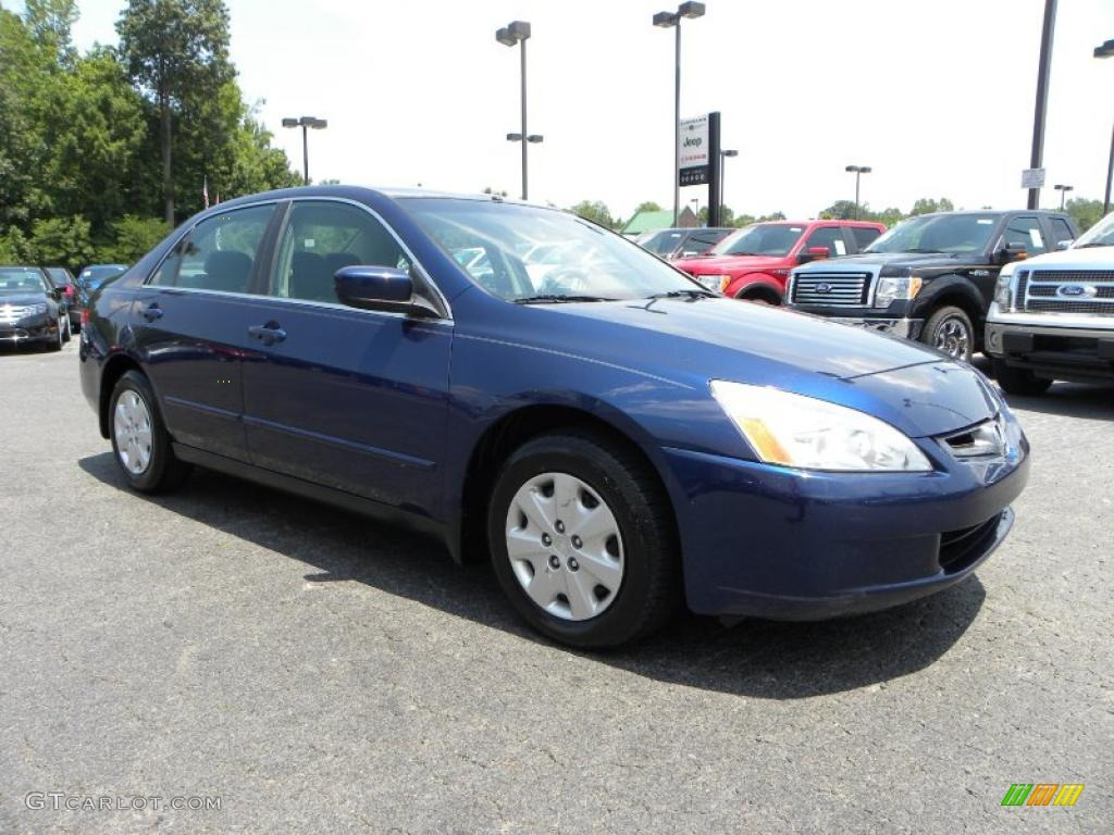 Eternal Blue Pearl Honda Accord. Honda Accord LX Sedan