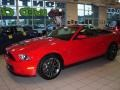 2011 Race Red Ford Mustang Shelby GT500 SVT Performance Package Convertible  photo #4