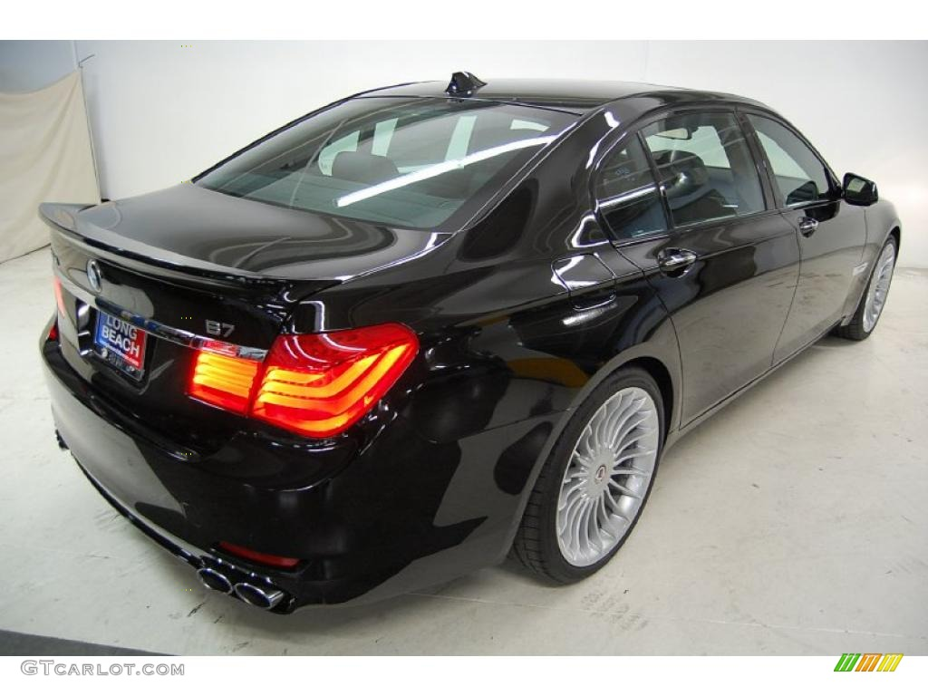 Jet Black 2011 BMW 7 Series Alpina B7 LWB Exterior Photo 31877338