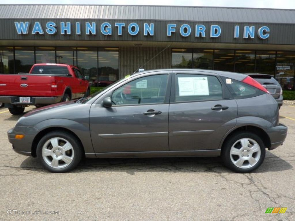 2007 liquid grey metallic ford focus zx5 ses hatchback 31851238 car color. Black Bedroom Furniture Sets. Home Design Ideas