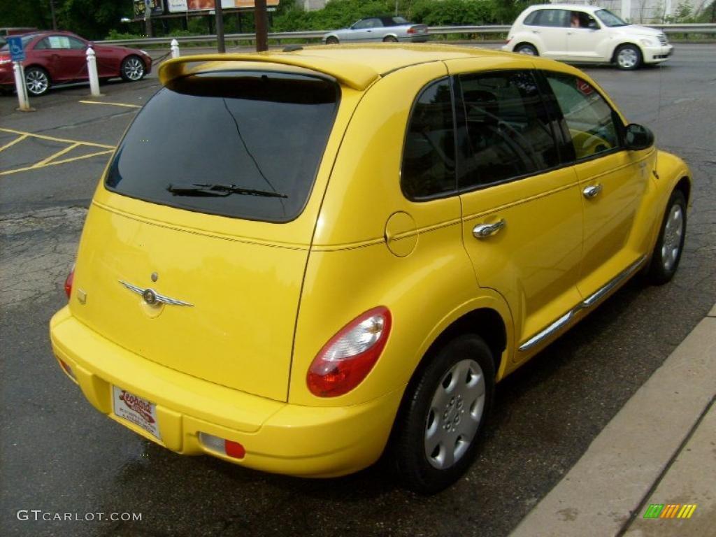 2006 solar yellow chrysler pt cruiser street cruiser route 66 edition 31851253 photo 5. Black Bedroom Furniture Sets. Home Design Ideas