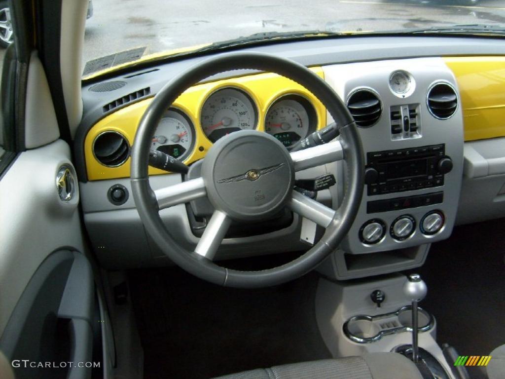 2006 solar yellow chrysler pt cruiser street cruiser route 66 edition 31851253 photo 15. Black Bedroom Furniture Sets. Home Design Ideas