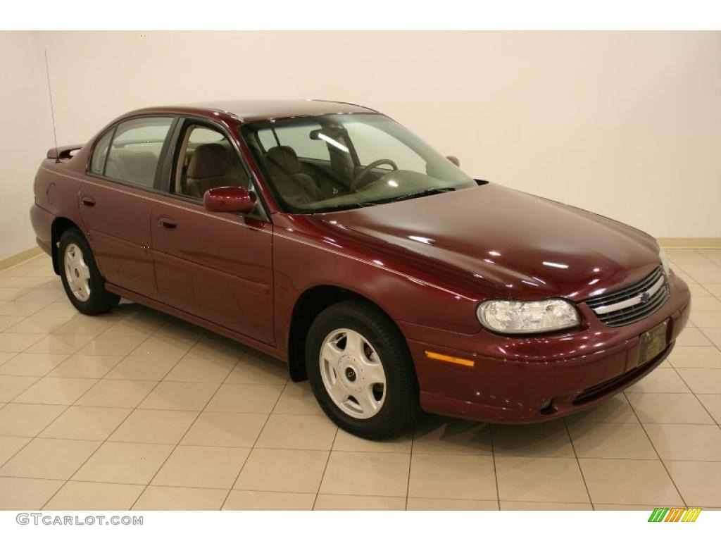 2001 monterey maroon metallic chevrolet malibu ls sedan. Black Bedroom Furniture Sets. Home Design Ideas