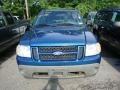 2001 Island Blue Metallic Ford Explorer Sport 4x4  photo #2