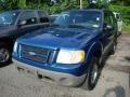 2001 Island Blue Metallic Ford Explorer Sport 4x4  photo #3