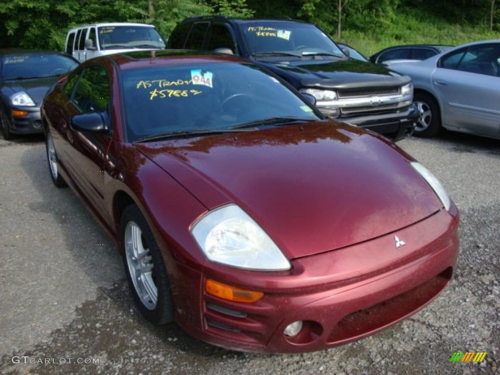 2003 ultra red pearl mitsubishi eclipse gt coupe 31900544. Black Bedroom Furniture Sets. Home Design Ideas