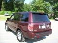 2007 Dark Cherry Pearl Honda Pilot LX 4WD  photo #2