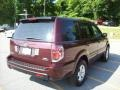 2007 Dark Cherry Pearl Honda Pilot LX 4WD  photo #20