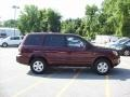 2007 Dark Cherry Pearl Honda Pilot LX 4WD  photo #21