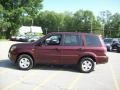 2007 Dark Cherry Pearl Honda Pilot LX 4WD  photo #22