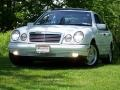 Glacier White 1999 Mercedes-Benz E 430 Sedan