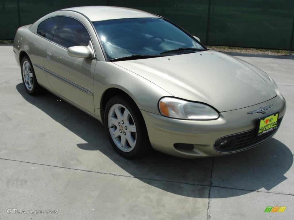 2001 Light Beige Metallic Chrysler Sebring Lxi Coupe