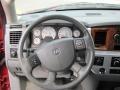 2007 Inferno Red Crystal Pearl Dodge Ram 3500 Laramie Mega Cab 4x4  photo #8