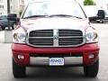 2007 Inferno Red Crystal Pearl Dodge Ram 3500 Laramie Mega Cab 4x4  photo #13