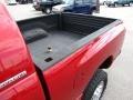 2007 Inferno Red Crystal Pearl Dodge Ram 3500 Laramie Mega Cab 4x4  photo #18