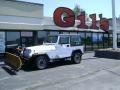 Bright White 1992 Jeep Wrangler Gallery