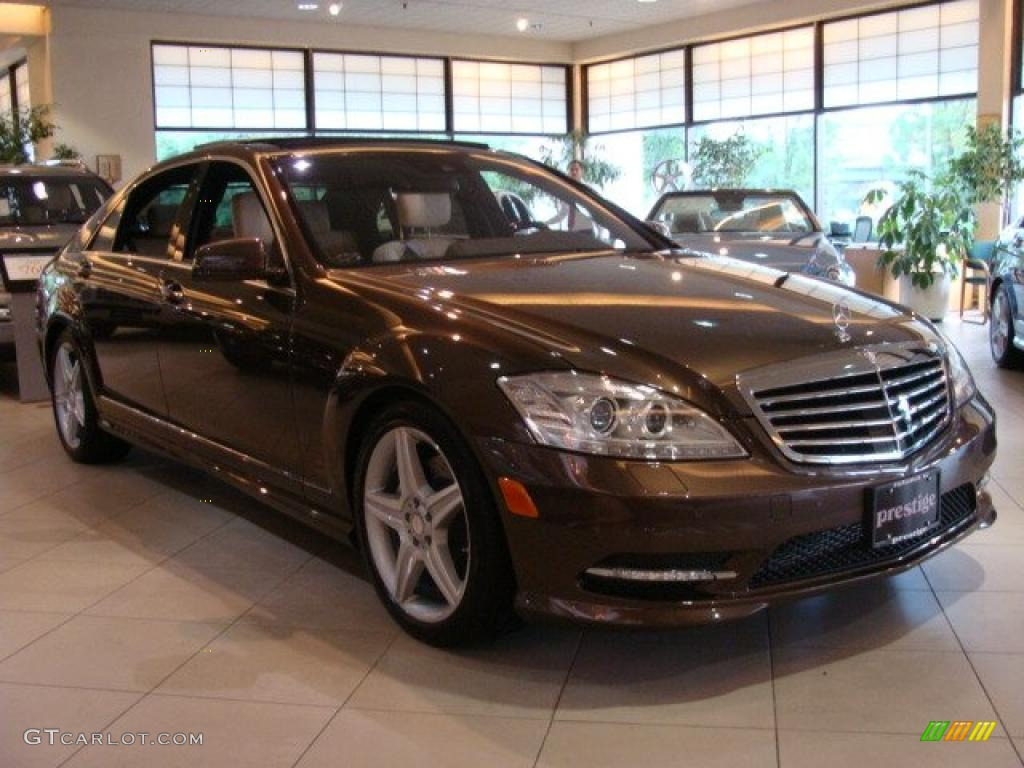 2010 dolomite brown metallic mercedes benz s 550 4matic