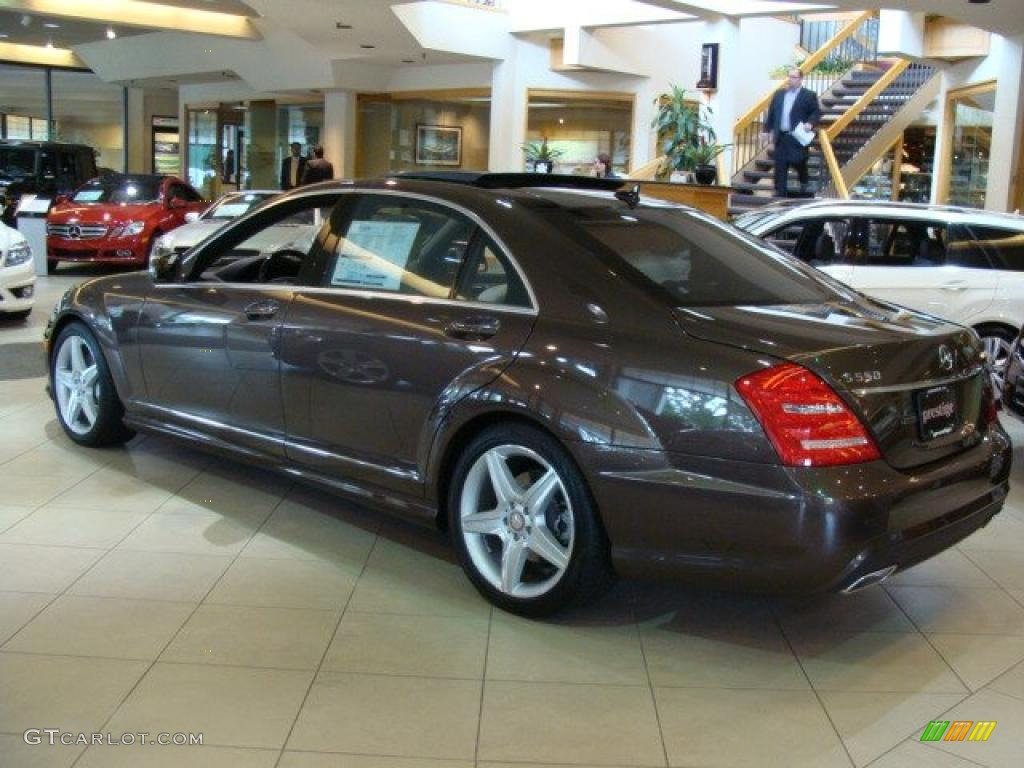 2010 dolomite brown metallic mercedes benz s 550 4matic for Mercedes benz genuine polar white touch up paint code 149