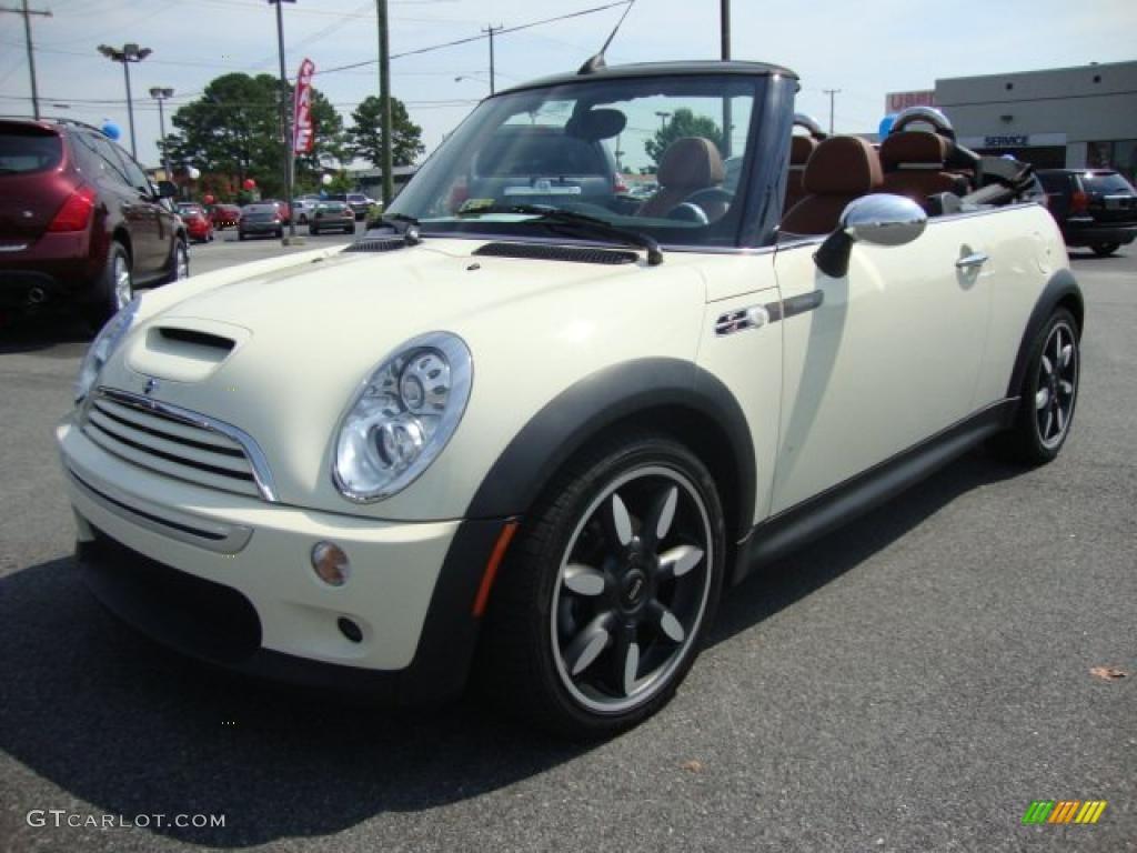 2007 pepper white mini cooper s convertible sidewalk edition 31964030 car. Black Bedroom Furniture Sets. Home Design Ideas