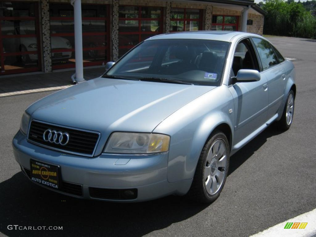 2002 crystal blue metallic audi a6 4 2 quattro sedan 31964488 photo 9 car. Black Bedroom Furniture Sets. Home Design Ideas