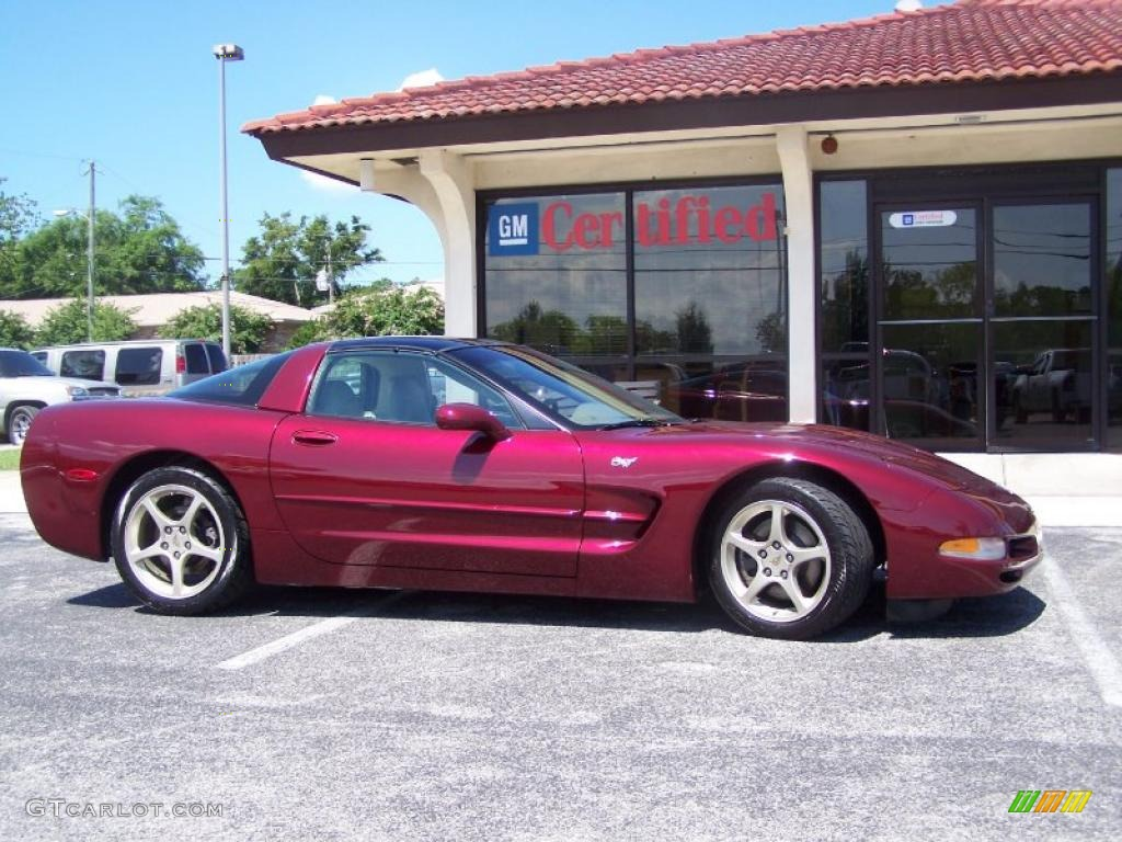 2003 50th anniversary red chevrolet corvette 50th anniversary edition. Cars Review. Best American Auto & Cars Review