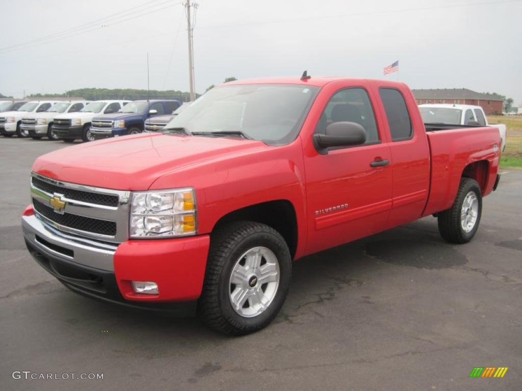 2010 victory red chevrolet silverado 1500 lt extended cab. Black Bedroom Furniture Sets. Home Design Ideas