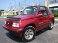 Brilliant Red Metallic - Tracker LSi Soft Top 4x4 Photo No. 1