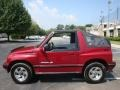 Brilliant Red Metallic - Tracker LSi Soft Top 4x4 Photo No. 3