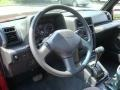 Dashboard of 1992 Tracker LSi Soft Top 4x4