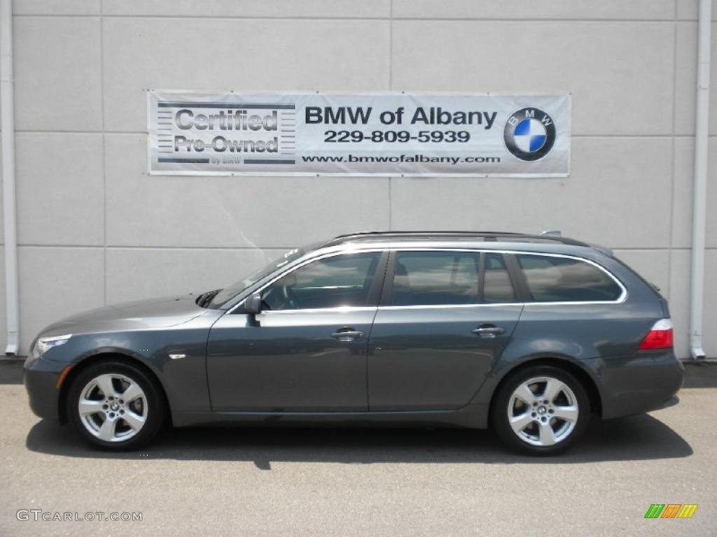 2008 Platinum Grey Metallic Bmw 5 Series 535xi Sports Wagon 32025457 Gtcarlot Com Car Color