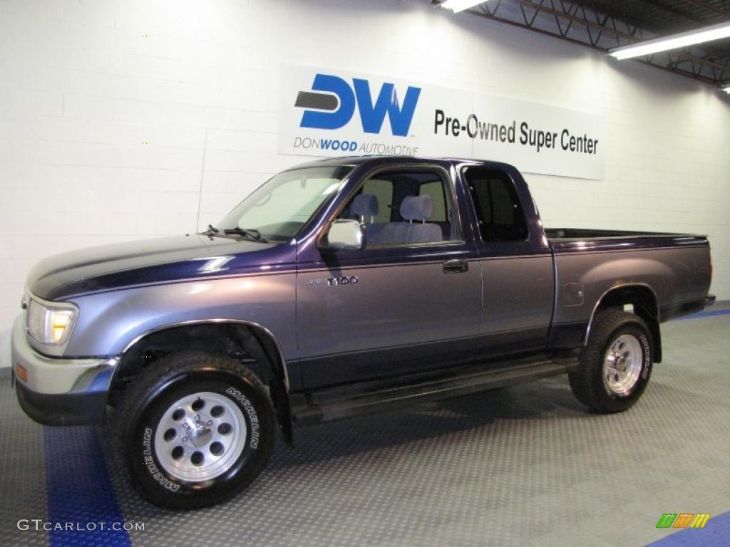 1998 cool steel metallic toyota t100 truck sr5 extended. Black Bedroom Furniture Sets. Home Design Ideas